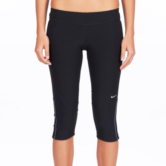 Mexico bolso síndrome  Nike Pants & Jumpsuits | Nike Filament Capri Pants Sz L Black | Poshmark